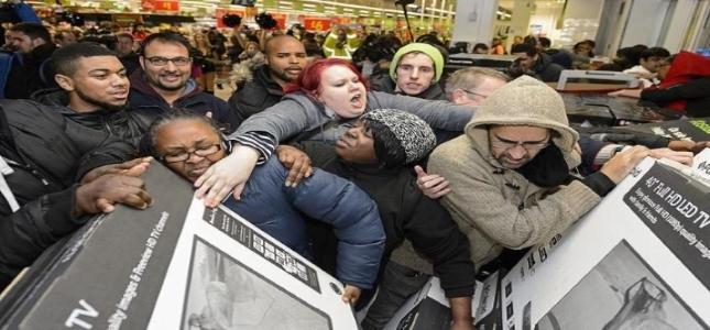 Ekstreme Black Friday kunder