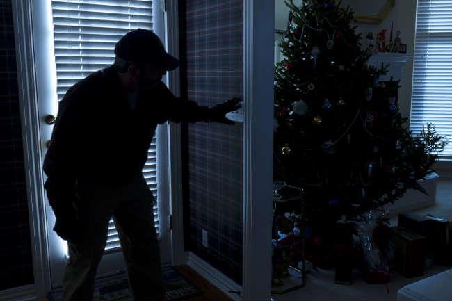 indbrudstyve i julen